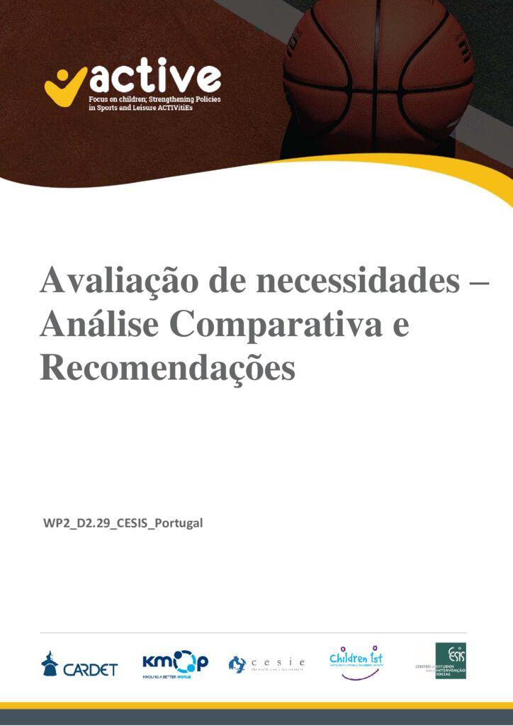 thumbnail of D2.29 Avaliação de necessidades – Análise Comparativa e Recomendações_CESIS_PT