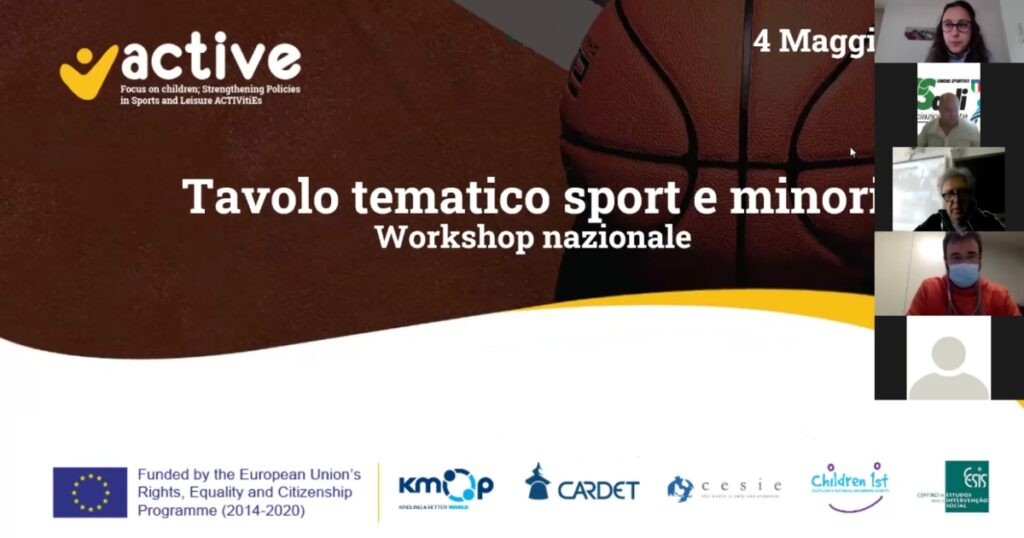 ACTIVE: National Workshop in Italy