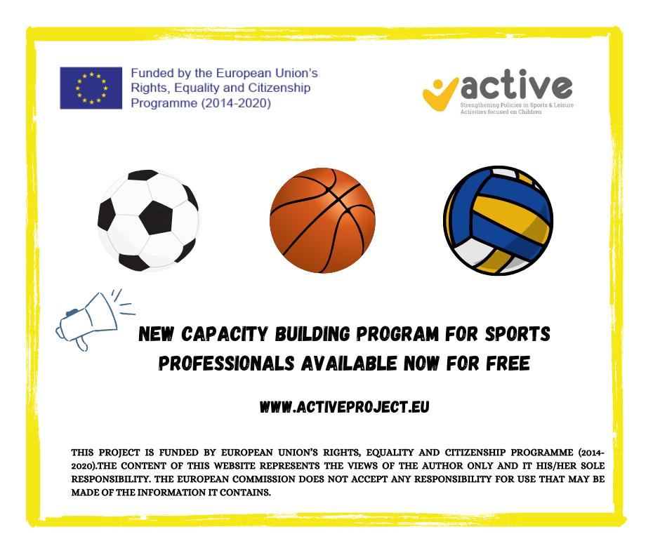 Εκπαιδευτική πλατφόρμα για την αντιμετώπιση της βίας στον παιδικό αθλητισμό