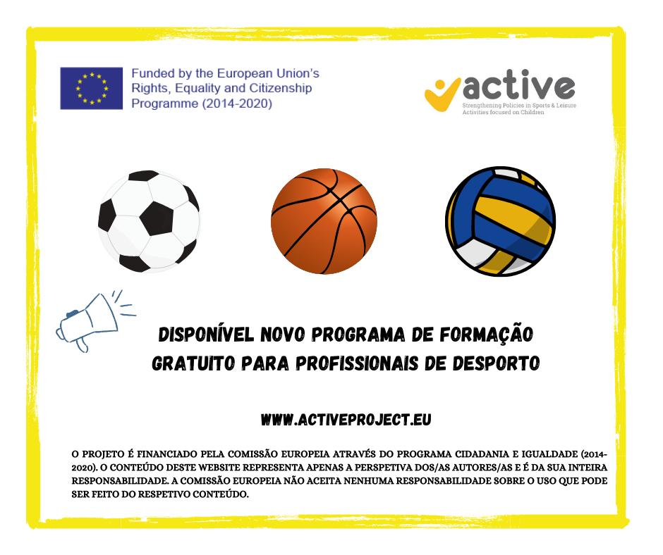 Nova plataforma de capacitação de acesso gratuito para profissionais e dirigentes de organizações desportivas